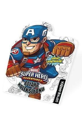 Beta Kids Captan Amerika - Marvel Süper Kahramanlar Boyama Koleksiyonu 0