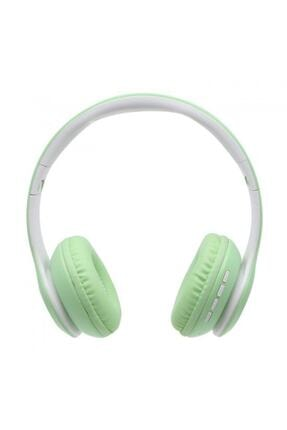 BLUPPLE Bluetooth Wireless Mikrofonlu Kablosuz Stereo Kulak Üstü Kulaklık Yeşil Genç Çocuk 1