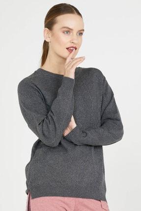 تصویر از ژاکت کش باف پشمی زنانه کد 20K2115-32289.1-R0287