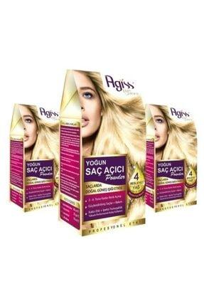AGISS 3 Adet Agiss Yoğun Saç Açıcı Powder 2