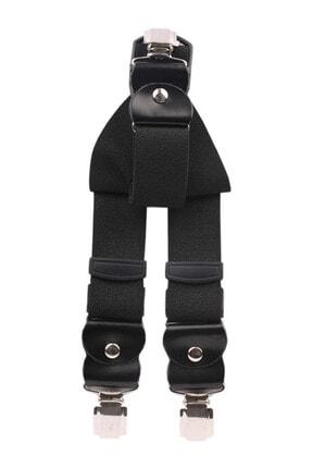 Sermet Süs Dünyası Erkek Siyah Pantolon Askısı 0