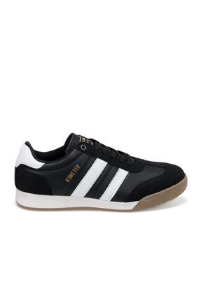 Kinetix Gragas Pu Siyah Erkek Kalın Taban Sneaker Spor Ayakkabı 1