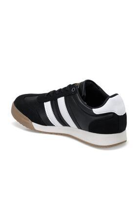 Kinetix Gragas Pu Siyah Erkek Kalın Taban Sneaker Spor Ayakkabı 2