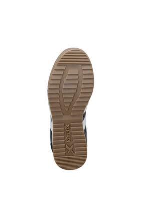 Kinetix Gragas Pu Siyah Erkek Kalın Taban Sneaker Spor Ayakkabı 3