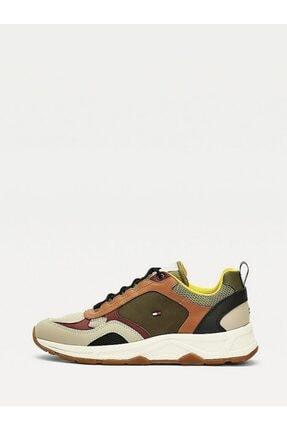 Tommy Hilfiger Erkek Th Fashion Mix Sneaker 3