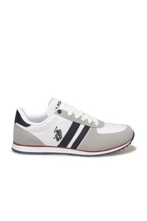 US Polo Assn PLUS 1FX Beyaz Erkek Sneaker Ayakkabı 100910648 1