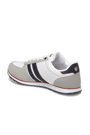 US Polo Assn PLUS 1FX Beyaz Erkek Sneaker Ayakkabı 100910648 2