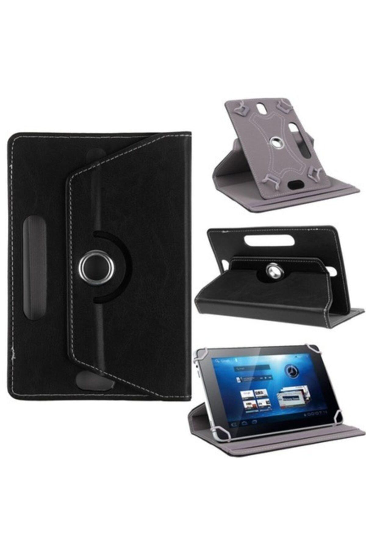 "Vorcom Sx Pro 10"" Dönebilen Standlı Tablet Kılıfı - Siyah"