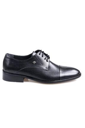 تصویر از 1090 Erkek Klasik Siyah Deri Ayakkabı