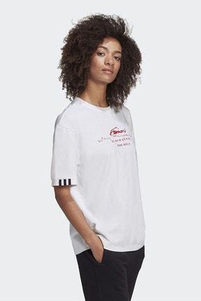 adidas Kadın Günlük Giyim T-shirt Oversized Tee Gd2976 3