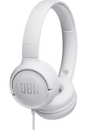 JBL T500 Kulak Üstü Kulaklık – White 0