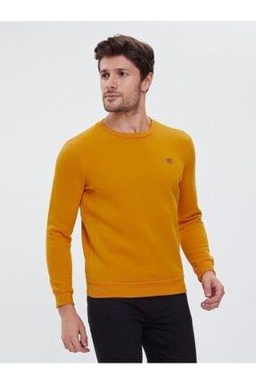 Loft Safran Sarı Slim Fit Erkek Sweatshirt 0