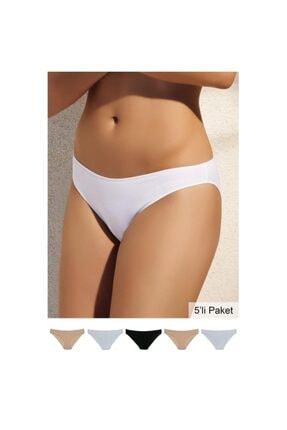 Pierre Cardin Kadın Karışık 2050 Noshow Bikini 5li Paket Külot 1
