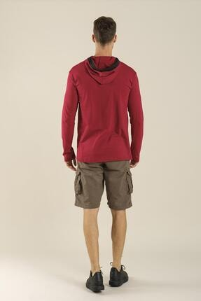 Oksit Coll City Donald Slim Fit Mevsimlik Kapüşonlu Sweatshirt 4