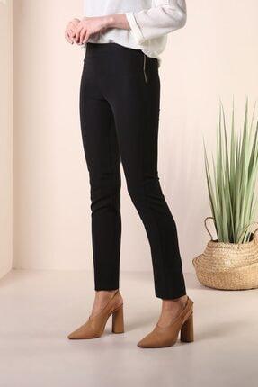 ALLDAY Kadın Siyah Dar Paça Pantolon 1