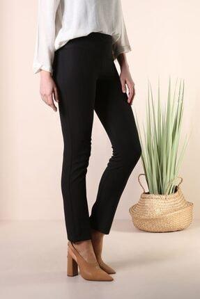 ALLDAY Kadın Siyah Dar Paça Pantolon 3