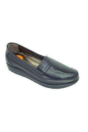 50705 Kadın Siyah Topuk Takviyeli Günlük Ayakkabı resmi