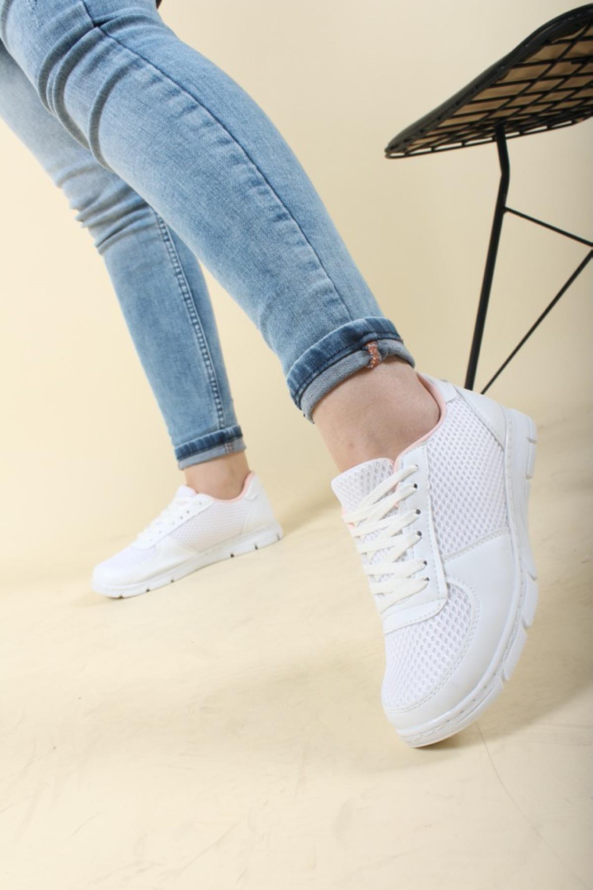 Leo 2020 Fileli Kadın Spor Ayakkabı