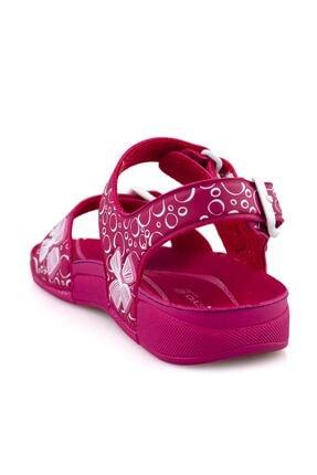 Ceyo Fuşya E Ortopedik Kız Çocuk Sandalet 2
