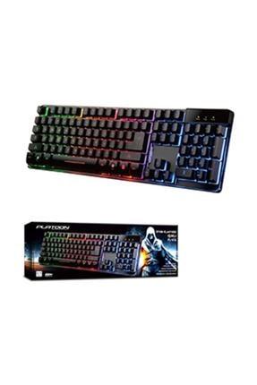 Silver Crest Platoon K9 Mekanik Hisli Led Işıklı Oyuncu Gaming Klavye 0