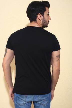 Oksit Cool City Zatan Extra Slim Fit Likralı Bisiklet Yaka Erkek Tshirt 2