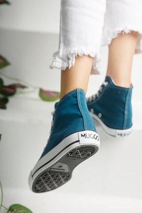 Muggo Unisex Mavi Keten Ayakkabı Mgcrs37 4
