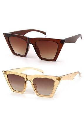 Modalucci Kadın Güneş Gözlüğü 2 Li Set 0