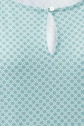 Tchibo Organik Pamuklu Bluz Su Yeşili 3