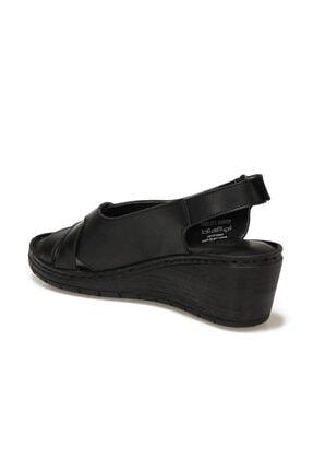 Polaris 161821.Z1FX Siyah Kadın Sandalet 101019761 2
