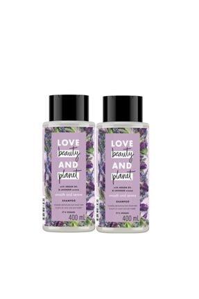 Love Beauty and Planet Argan Yağı Ve Lavanta Özlü Şampuan 400 Ml 2 Adet 0