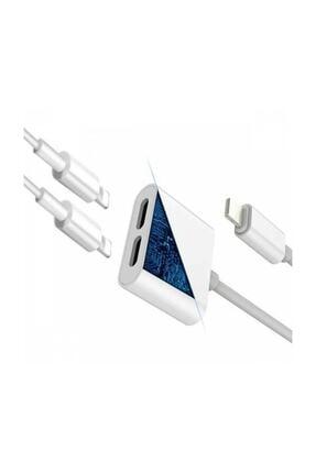 Ally Iphone 7,8 X ,10 Uyumlu Lightning , Kulaklık Ve Şarj Çevirici Dönüştürücü 1