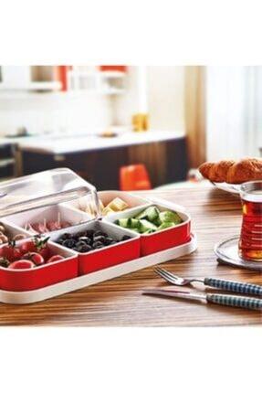 HERA CONCEPT Kahvaltılık Seti 6 Parça Kapaklı 1