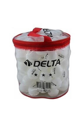 Delta 100 Adet Çantalı Masa Tenisi Pinpon Topu 1