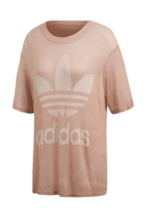 adidas Kadın T-shirt - Big Trefoil Tee - CY5845 4