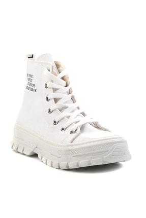 Bambi Beyaz Kadın Sneaker K01530110818 2