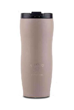 KORKMAZ A689-02 Joy Kahve Bardağı Mug Termos Bej 0