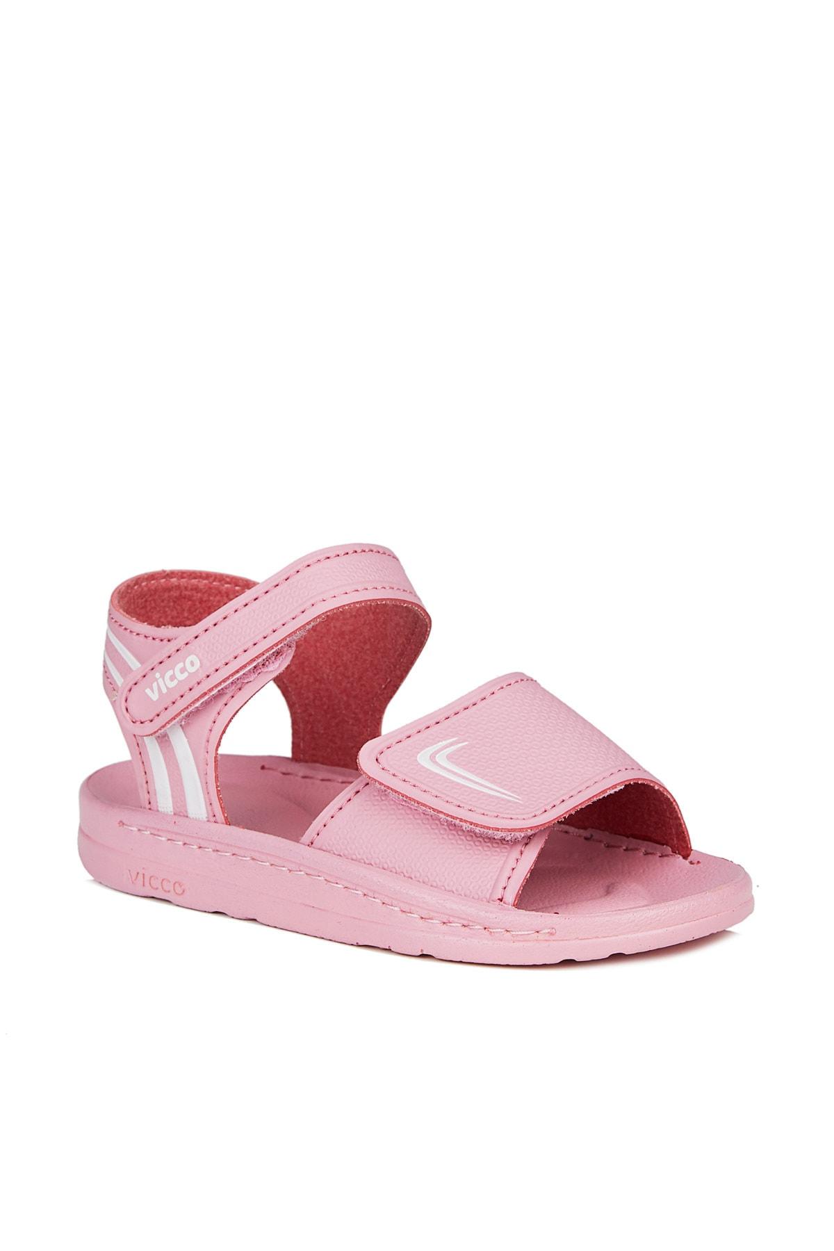 Dory Kız Bebe Pembe Sandalet