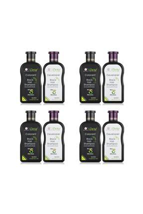 Dexe 4'lü Avantaj Seti - Saç Beyazlık Giderici Şampuan 200 200 ml 0