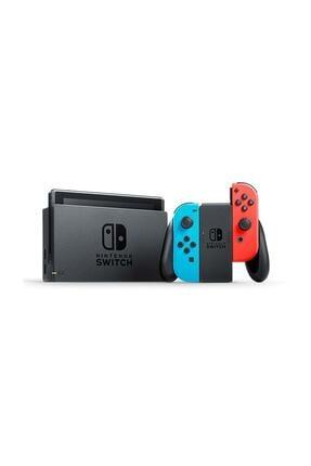 Nintendo Switch Konsol Neon - Yeni Geliştirilmiş Batarya 0