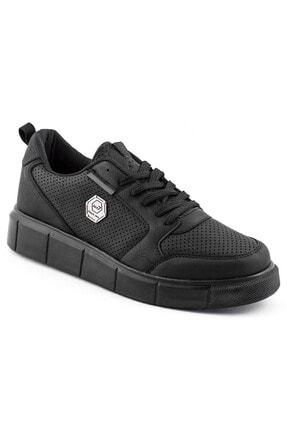 L.A Polo Erkek Spor Ayakkabı Siyah 0