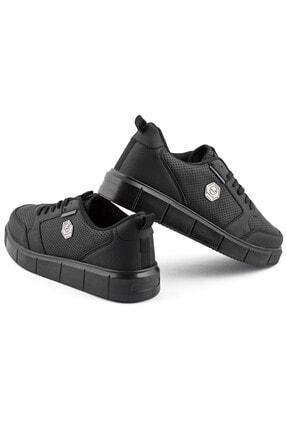 L.A Polo Erkek Spor Ayakkabı Siyah 3