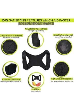 Ankaflex Kamburluk Önleyici Posturex Manyetik Dik Duruş Korsesi Ayarlanabilir Yeni Nesil Dik Durma Aparatı 4