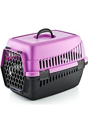 Maxisol Kedi Köpek Taşıma Çantası Mor Renk 0
