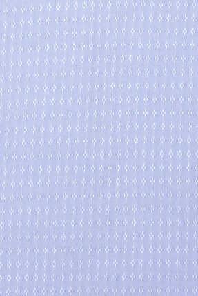 Hatemoğlu Mavi Desenli Klasik Gömlek 2