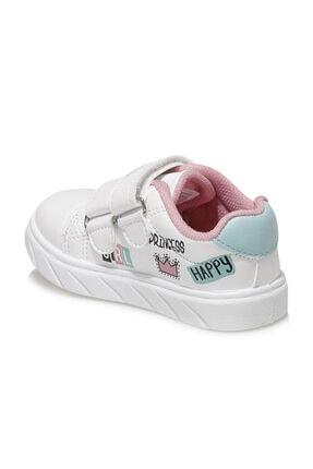 Icool PRINCESS Beyaz Kız Çocuk Sneaker Ayakkabı 100664317 2