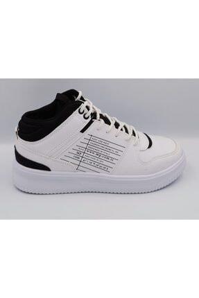 Beyaz Siyah Spor Ayakkabı resmi