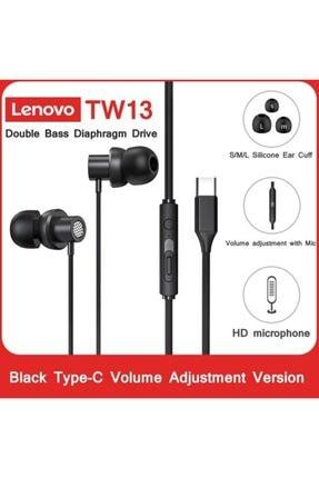 LENOVO Thinkplus Tw13 Type-c Kablolu Mikrofonlu Kulaklık 1