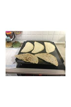 Has Xx-35 Irlı Ocak Üstü Kare Düz Sac Ekmek Yufka Bazlama Köfte Pişirme Sacı Kulpsuz 50504 2