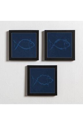 Artistic Frames Mavi Balık 0