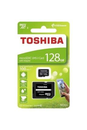 Toshiba 128gb 100mb/sn Microsdxc™ Uhs-1 Class10 Excerıa Thn-m203k1280ea 0